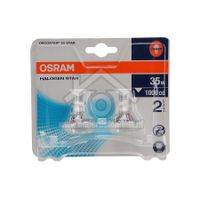 Osram Halogeenlamp Decostar35 Star reflector GU4 12v 35W 36gr 430lm 4008321200303