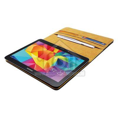 Spez Book Case Leder, Zwart, 4 creditcard slots, 1 document slot Samsung Galaxy Tab 4
