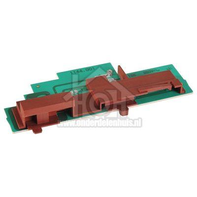 Bosch Schakelaar Print met schuif LE67030, DHE655C, LE63130 00498661