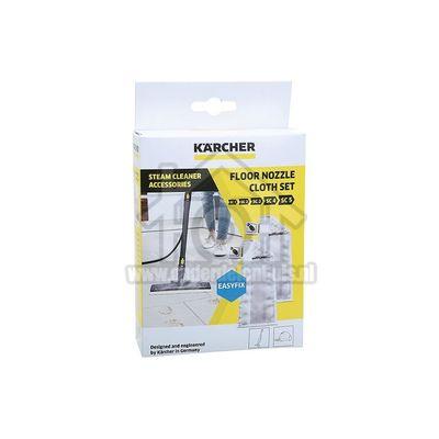 Karcher Doekenset Microvezel Easyfix Doekenset, 2-delig SC1, SC2, SC3, SC4, SC5 28632590