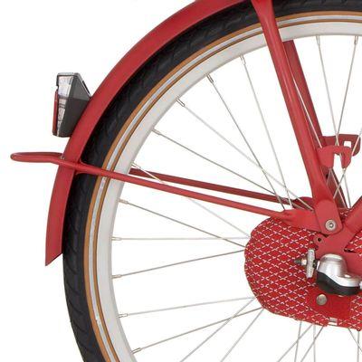 Cortina a spatb stang 24 U4 true red matt
