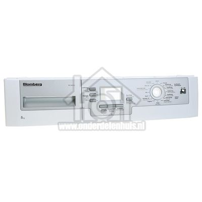 Blomberg Frontpaneel Dashboard TKF8439A 2972509004