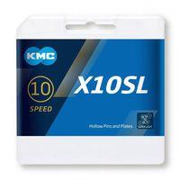 KMC ketting 1/2-11/128 114 10V X10SL zilver