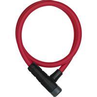 Abus kabelslot Primo 5412K/85 red