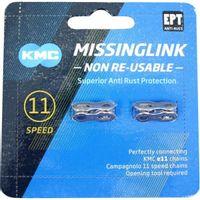 KMC Sluitschakel MissingLink 11NR EPT zilver 5.65mm 11v (2)