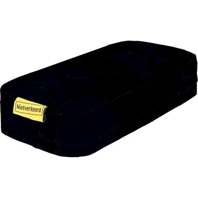 Nietverkeerd zitkussen dikke pakkerd zwart