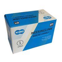 KMC Sluitschakel MissingLink e1NR EPT zilver single v(40)