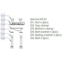 Contec Service Kit D Drop Service Kit D: Klem-Kit Incl. Plaat