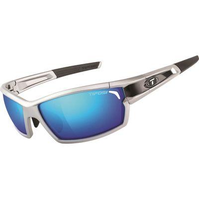 Tifosi bril CamRock zilver/zwart clarion blauw