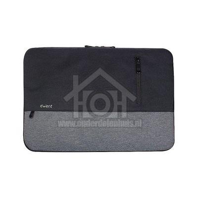 Ewent Tas Urban Sleeve, Zwart/Grijs Geschikt voor notebooks tot 14.1 inch EW2530