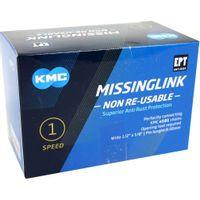 KMC Sluitschakel MissingLink Z1eHX NR EPT zilver wide(40)