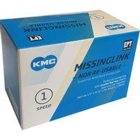 KMC Sluitschakel MissingLink Z1eHX NR EPT zilver narrow(40)