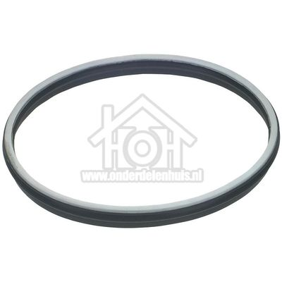Zanker Viltband smal -achter- rubber rand Thermat KE 1251102222