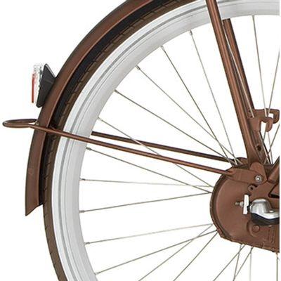 Cortina a spatb stang 28 E-U4 sparkle brown matt