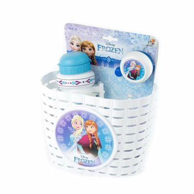 Widek Kindermandje PVC Frozen incl.bel en bidon