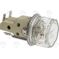 Smeg Lamp Compleet met glas en fitting UK60CMF, SCB60M, SA22XMF 696050220