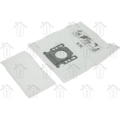 Foto van Easyfiks Stofzuigerzak Model K Papier 8 stuks Nw Stijl S140-S157 5588951