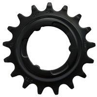 KMC tandwiel R Shimano 17T Chromoly zwart 3/32