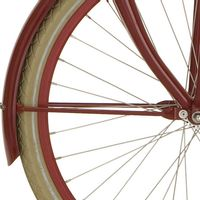 Cortina v spatb stang 24 U4 ruby red