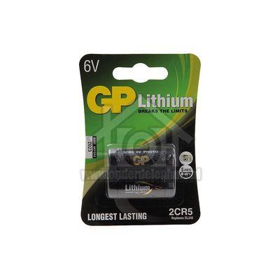 Foto van GP Batterij fotobatterij lithium 6V DL245 0702CR5D1