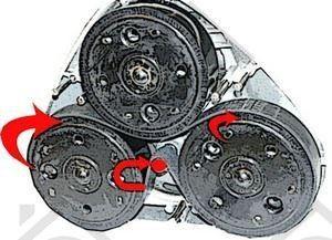 Foto van Electrolux Snaar aandrijfsnaar vloerboener B 9-B 22-B 37 102335007