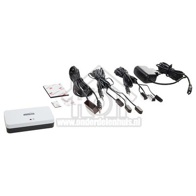 Marmitek Infraroodverlenging Draadloos Invisible Control 6 Voor max. 6 apparaten 08068
