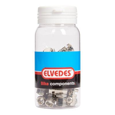 Elvedes rollerbrake versteller M6 messing (15) ELV2011003