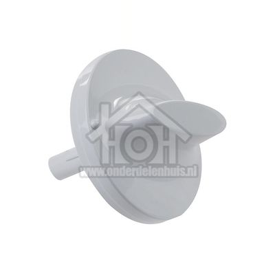 Ariston-Blue Air Knop Wit met lange as 4cm G84C, G85C C00096272