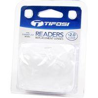 Tifosi reader lens Tyrant 2.0 clear +2.0