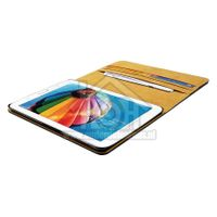 Spez Book Case Leder, Zwart, 4 creditcard slots, 1 document slot Samsung Galaxy Tab 3 7