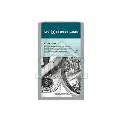 Electrolux Ontkalker Super Care ontkalker, 2 zakjes Wasmachine en vaatwasser 9029799286