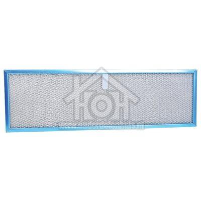 Novy Filter Metalen Vetfilter, Kunstof Lip Lange Zijde Afmeting 500x155mm, D190 5638015