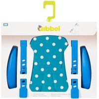 Qibbel stylingsset voorzitje Polka dot blauw