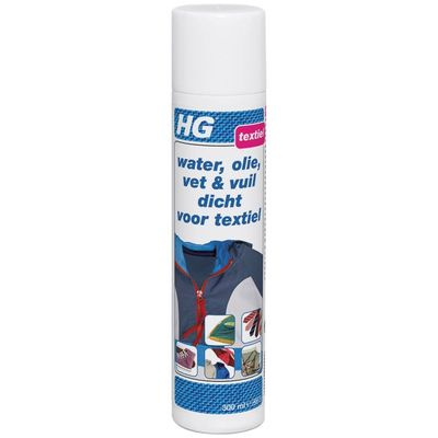 HG Reiniger Water, olie, vet en vuil Dicht voor textiel 175030100