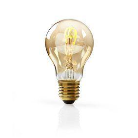 Nedis LED-Filamentlamp E27 | A60 | 3 W | 120 lm | 2000 K | Warm Wit | Retrostijl | Aantal lampen in