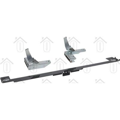 Bosch Scharnier links/rechts voor ovendeur + reflector blik HEN226-HEN205-HE25060 00643913