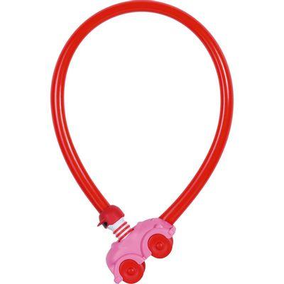 Abus kabelslot 1505/55 pink