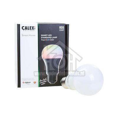 Foto van Calex Ledlamp LED Zigbee Standaard lamp E27 A60 8,5W 2700K + RGB 421792