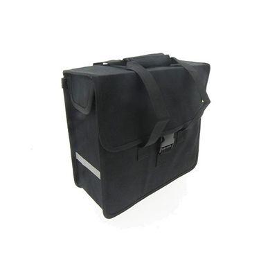 Beck Canvas Shopper zwart 18L