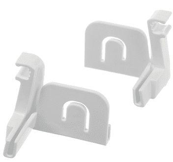 Bosch Adapter Scharnier vriesklep GIN31AE30G, GI81NAC30, GI41NAC30 00639091