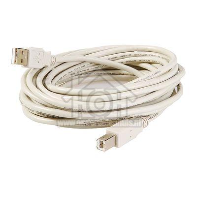Foto van BMS Aansluitkabel USB A - USB B (M-M) 2.0 Silverline 050490