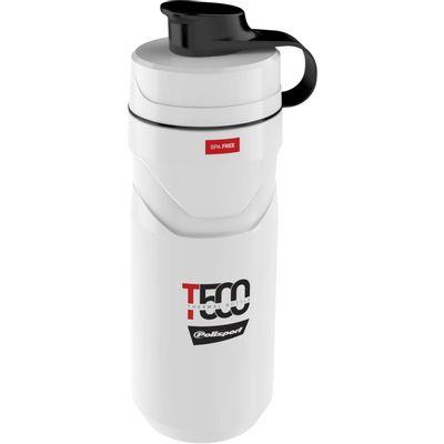 Polisport thermo bidon T500 white/red