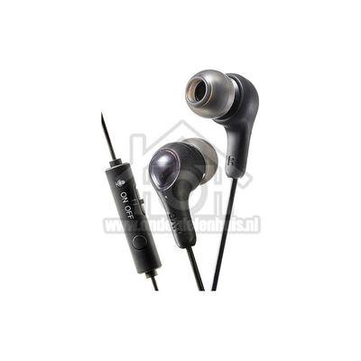 JVC Hoofdtelefoon Gumy, In Ear met microfoon en bediening Gaming HAFX7GBE