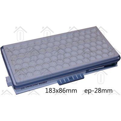 Foto van Miele Filter Actief HEPA+koolstof filter S klasse in 1 S 4000/5000 serie SF-AH50 7226170