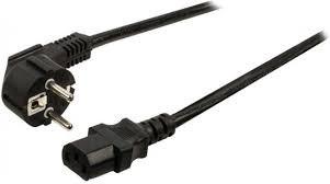 Easyfiks Netvoedingskabel Voedingskabel C13, 230V, 10 Amp 5.0 Meter, 3x0.75mm2 BME718