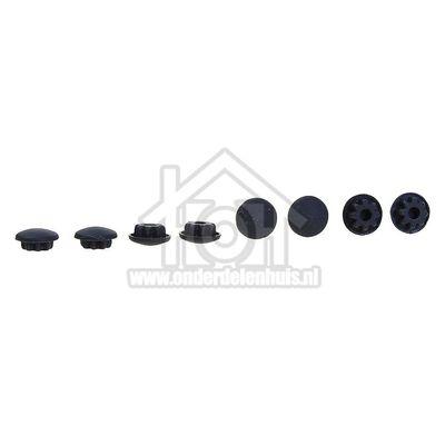 Dometic Dopje Afdekdopje, zwart voor schroef van oa scharnier CU400, CU404, MO710, MO712,