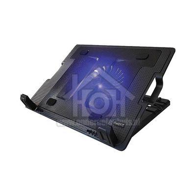 Foto van Ewent Notebookstandaard met koeling Geschikt voor notebooks tot 17 inch EW1258