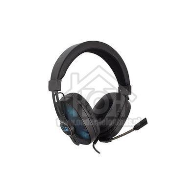 Play Hoofdtelefoon Gaming Hoofdtelefoon met RGB en microfoon Stereo 3.5mm jackplug PL3321