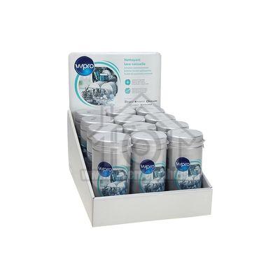 WPRO Ontvetter Voor wasautomaten en vaatwassers Display 12 busjes 484000008865