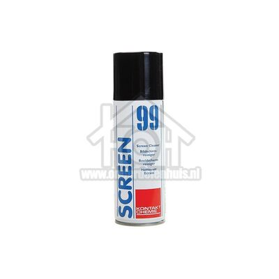 Kontakt Chemie Spray Screen 99 Glasreiniger voor pc schermen en televisies KOC80509